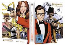 Kingsman The Golden Circle Steelbook mit exklusivem Booklet Blu-ray Box Set Neu