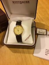 Vintage Wittnauer Men's Wrist Watch with Original Box and Papers Discontinued.