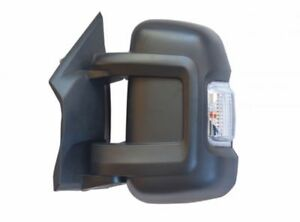 MILENCO REPLACEMENT DOOR MIRROR SHORT ARM LEFT DUCATO BOXER RELAY 2007 ON - 5265