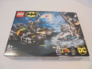 LEGO 76118 DC BATMAN MR FREEZE BATCYCLE BATTLE - NEW & SEALED