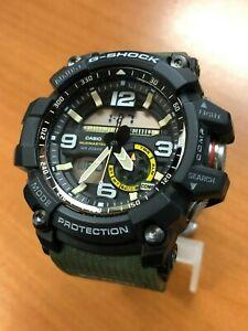 G SHOCK Casio GG1000-1A3 Mudmaster Twin Sensor Green Men's Watch
