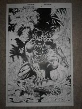 BLACK PANTHER AGENTS OF WAKANDA 5 pg 1 INSANE BLACK PANTHER FULL SPLASH PAGE