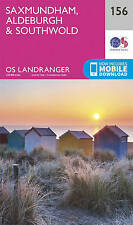 Saxmundham, Aldeburgh & Southwold by Ordnance Survey (Sheet map, folded, 2016)