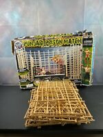 WWE Jakks Punjabi Prison Double Cage Match Ring Playset Box VHTF Cages Only
