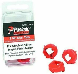 Paslode Part # 219236  No-Mar Tips, 16 ga. Trim Tools, 3-pack