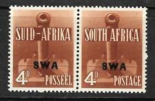 SOUTH WEST AFRICA 1941 4d RED BROWN MH BILINGLE PR