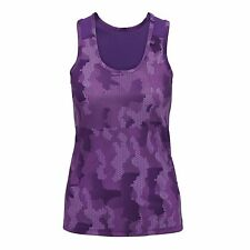 Womens Sports Gym Racer Back Running Vest Fitness Jogging Yoga Singlet Top Camo