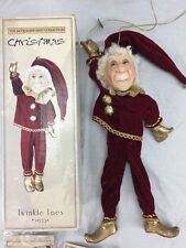 Jacqueline Kent Christmas Collection Twinkle Toes  #342254 in box 16""