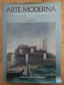 Arte moderna. Catalogo dell'arte moderna italiana n. 22. Mondadori