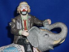 Emmett Kelly JR Celebrating 35 Years of Clowning Excellent Condition