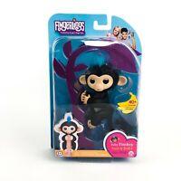 WowWee Fingerlings Fingerling Interactive Baby Monkey Finn Black Gamestop