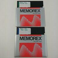 "Bards Tale - Home Copy - 5.25 Floppy Disks 5 1/4"" Vintage Computer Game"