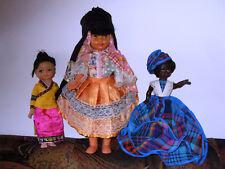 Antique (pre-1930) Dolls & Bears Grande Poupée Folklorique Vietnamienne Snf Celluloid Vietnam