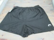 Black More Mile 4-inch  running shorts without side pockets, size XL