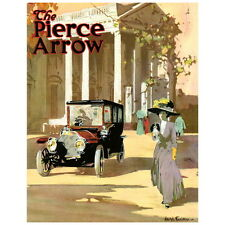 Pierce Arrow Motor Ad Poster Deco Magnet, For Fashionable Ladies Fridge