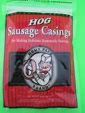 100% Natural Sausage Casings Pork for 25 lbs Brats Kielbasa Smoked Links Recipe