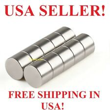 10 25 50 100 Pieces 14mm X 10mm Neodymium Round Disc Rare Earth Magnets 15 Lbs