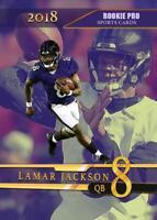 2018 LAMAR JACKSON PRO ROOKIE VERY FIRST ROOKIE CARD  BALTIMORE RAVENS!