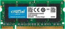Crucial Ct25664ac800 2go Ddr2 800mhz (pc2-6400) SODIMM