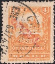 MEXICO, 1897. Official O33v, Red OP, Used