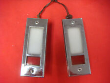 ORIGINAL 1965 1966 MUSTANG GT FASTBACK DELUXE PONY DOOR COURTEST LIGHTS PAIR