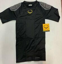 EvoShield Padded Protective Compression Shirt, Youth Med, Shoulder / Spine Pads