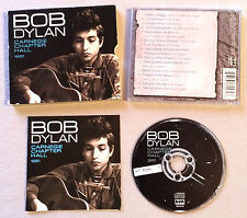 BOB DYLAN - CARNEGIE CHAPTER HALL 1961 / CD ALBUM BDACD102 (ANNEE 2011)