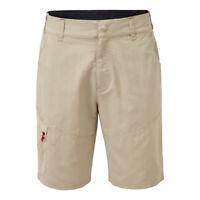 Gill Mens UV Tec Shorts Size M Khaki Beige Sailing UV012 (453)