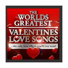 World's Greatest Valentines Day Love Songs - The Only Love Albu... Free Shipping
