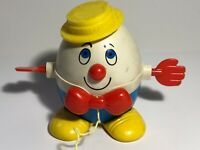 Cute Vintage Fisher Price #736 Humpty Dumpty Pull Toy See pics! Make Offer!