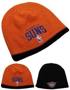 Phoenix Suns New Adidas Reversible Orange Black Beanie Knit Toque Era Hat Cap