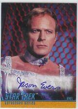 Star Trek Tos Season 3 Auto A75 Jason Evers