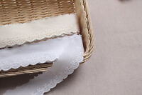 14Yds broderie anglaise vintage cotton eyelet lace trim 3cm YH1205a laceking