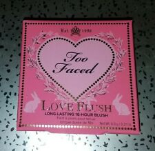 Too Faced Love Flush Long-Lasting 16-Hour Blush How Deep Is Your Love - Nib