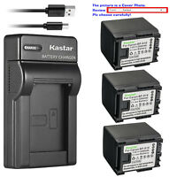Kastar Battery Slim Charger for Canon BP-819 CG-800 Canon VIXIA HF M40 Camcorder