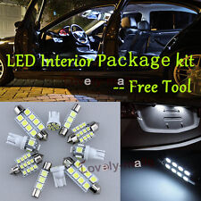 LED Interior Package Kit Bulb Xenon White 8pc For 2000-2003 Nissan Maxima R1