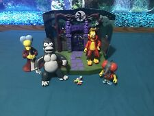 Simpsons WOS Treehouse Of Horrors Springfield Cemetery Environment
