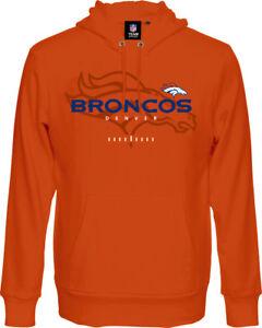 NFL Denver Broncos Hoody Hooded Pullover Great Value Hooded Sweater Football