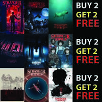 A4 A3 A2 Best TV Show Wall Art STRANGER THINGS Season 3 Posters Prints