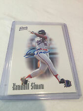 1996 Best Randall Simon autographed card
