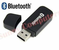 New USB Wireless Bluetooth 3.5mm AUX Music Audio Stereo Receiver Dongle A2DP Car