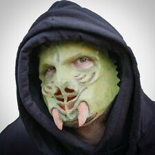 Galactic Invader Alien Prosthetic Face Latex Fancy Dress Adult One Size