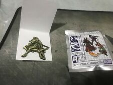 Gold Golden Hanzo Pin Overwatch Blizzcon Series 4 Blizzard Collectible Pins