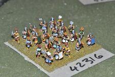 15mm biblical / hittite - axemen 23 figures - inf (42316)