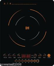 Induction Cooker Super Slim 40mm Touch Sensor Type 8 Grades Heat Power Adjusting