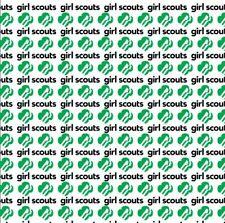 GIRL Scout Scrapbook Paper set 8-sheet of acid free cardstock