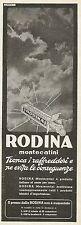 Y0158 Rodina Montecatini tronca i raffreddori - Pubblicità 1937 - Advertising
