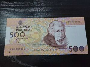🇵🇹 Portugal 500 escudos 4-11-1993  P-180f Banknote Currency 060731-5
