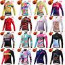 Miloto Women's Thermal Cycling Jersey Long Sleeve Winter Fleece Bike Cycle Shirt