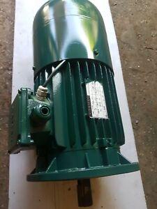 Single Phase Brake Motor 240 v 1.5kw. Used.